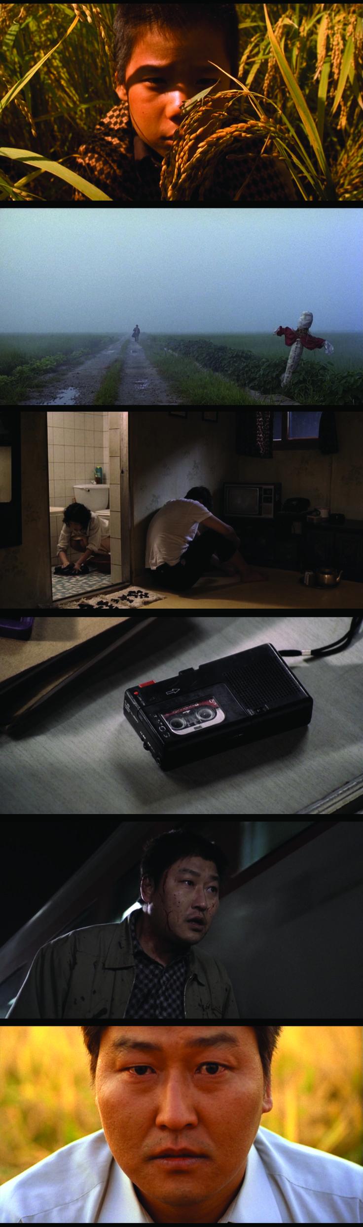 Memories of Murder (2003), directed by Joon Ho Bong.