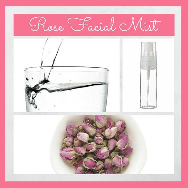 Make your own rose face toner to keep your skin hydrated and oil free. All you need is dry rose buds, room temperature water and a spray bottle  • Hace tu propio toner de rosas para hidratar la piel