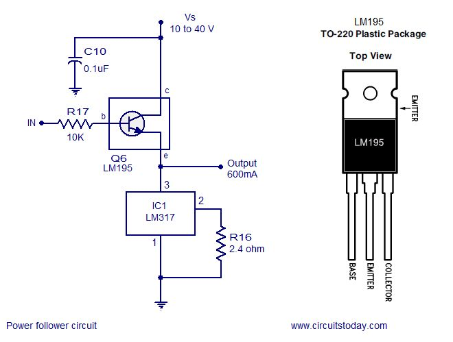current voltage relationship in mosfet circuit