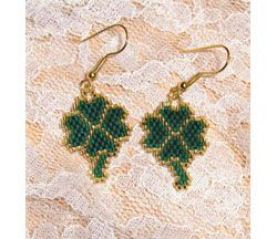 Shamrock Earrings, Sova Enterprises