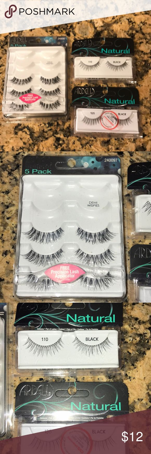 Ardell eyelashes. Ardell eyelashes. One package is missing 2 pair. Makeup Brushes & Tools #makeuptools