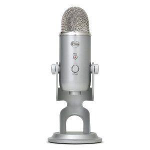 Blue Microphones Yeti Stereo/Cardioid/Omnidirectional/Biodirectional USB Microphone: Blue Microphones: