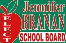 School Board Signs - Cheap School Board Campaign Election Sign Templates