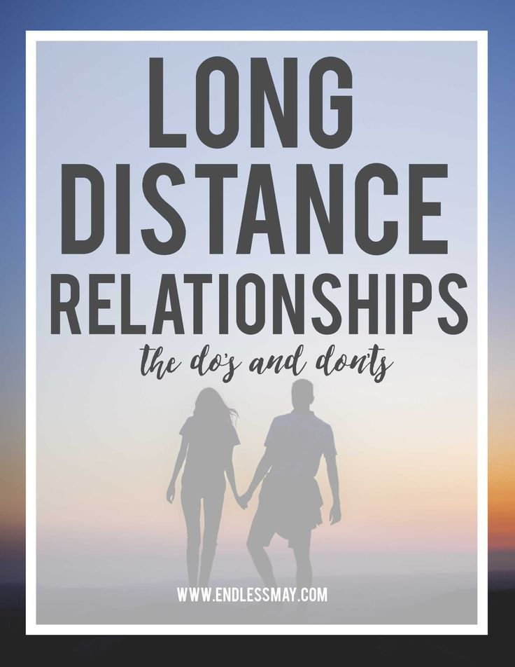 Dating long distance in college