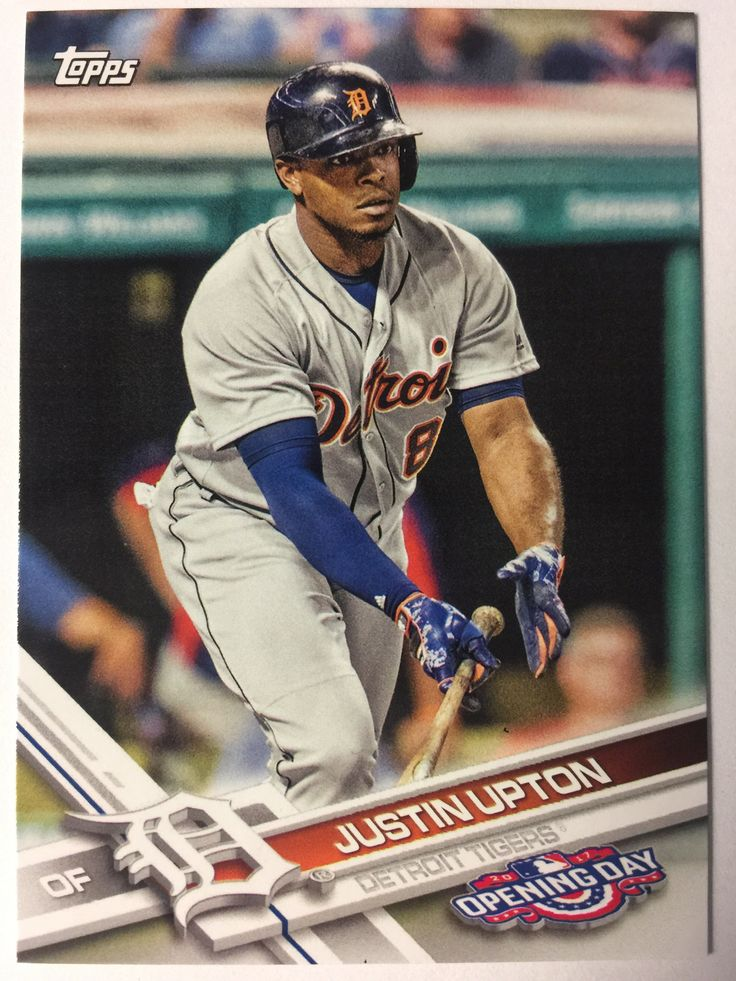 2017 Topps Opening Day #37 Justin Upton - TIGERS