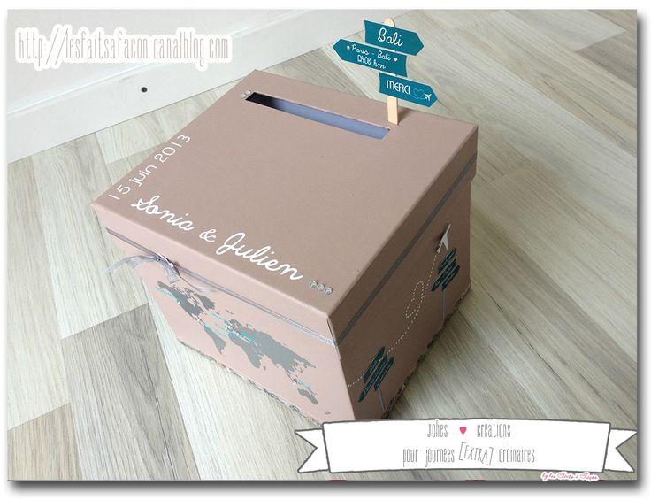 urne cadeau voyage et strass 6