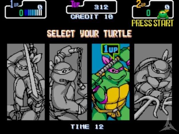Teenage Mutant Ninja Turtles | 12 Classic Character Select Screens To Make You Long For The Arcade