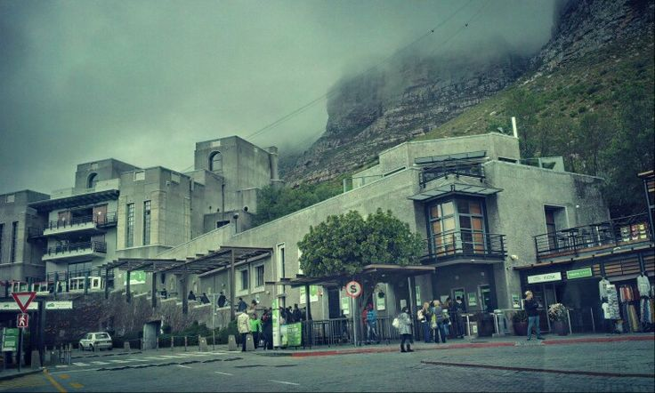 Table Mountain Cablecar Station.