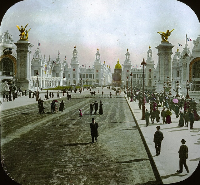 Paris Exposition: Esplanade des Invalides, Paris, France, 1900 by Brooklyn Museum, via Flickr