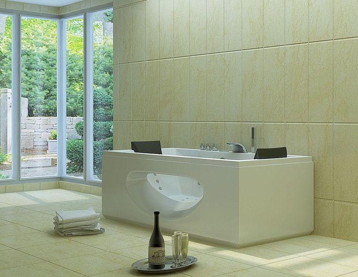 die besten 17 ideen zu whirlpool badewanne auf pinterest eckbadewanne whirlpool badewanne mit. Black Bedroom Furniture Sets. Home Design Ideas