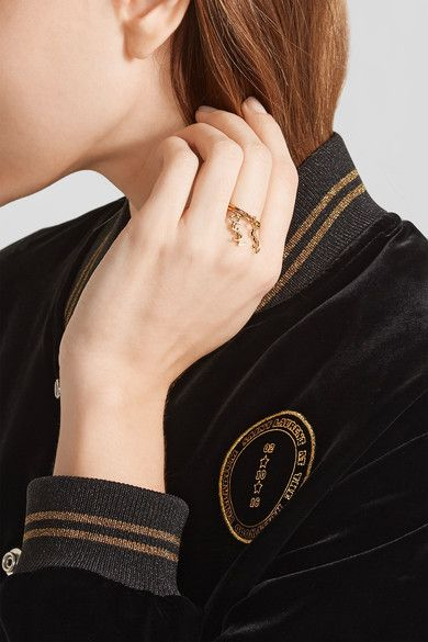 Saint Laurent - Gold-plated Ring - 8