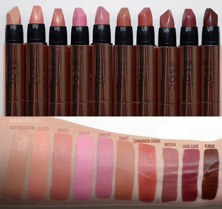 144 Best Swatches Images On Pinterest Lipstick