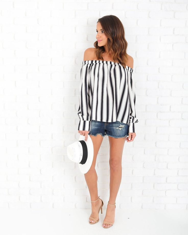 Sweet Factory Striped Blouse - FLASH SALE