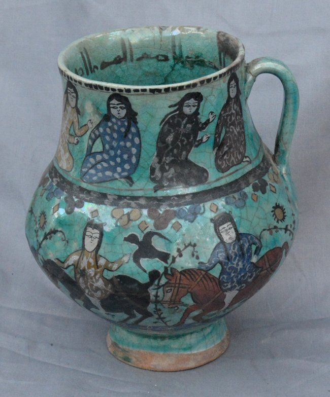 pursian pottery | Persian Pottery Jar