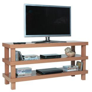 Buy Chunky TV Unit - Oak Effect at Argos.co.uk - Your Online Shop for Entertainment cabinets and units, TV stands.