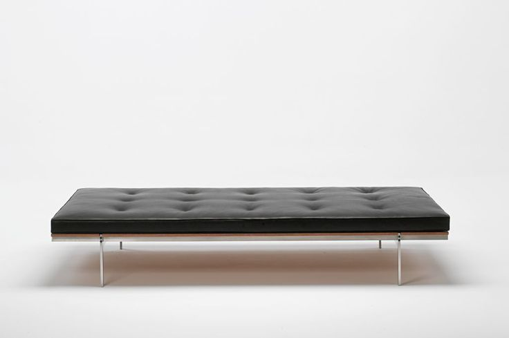 The elegant Daybed by Preben Fabricius and Jørgen Kastholm in all its perfect glory http://www.bo-ex.dk/project/daybed/