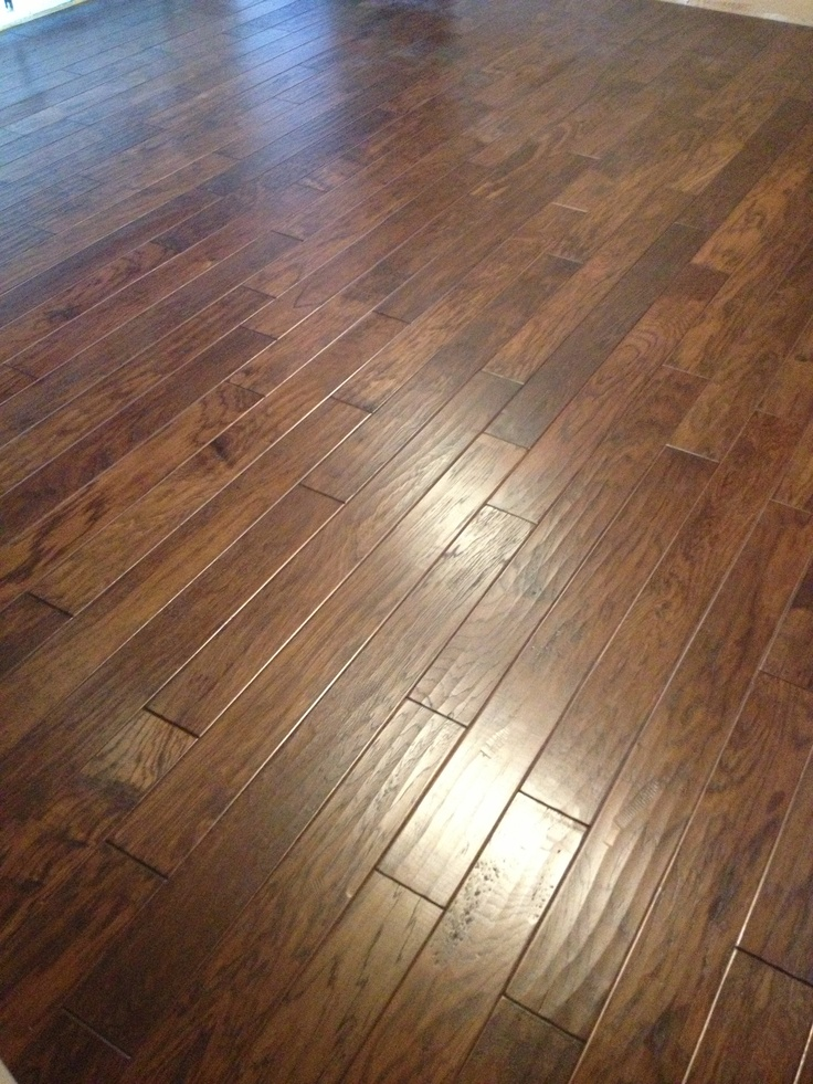 Hickory Flooring House And Woods On Pinterest