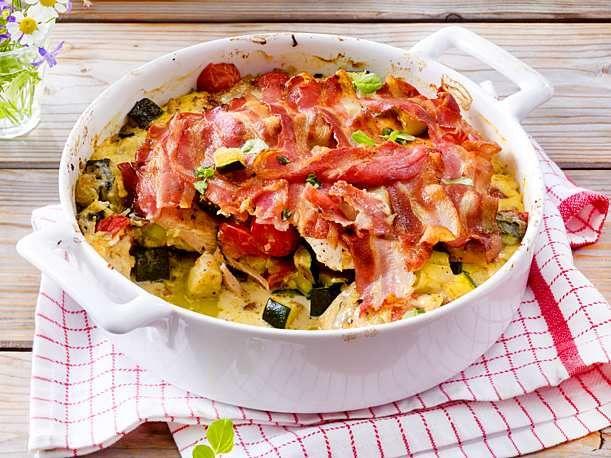 Zucchini casserole with chicken   – Essen und Trinken