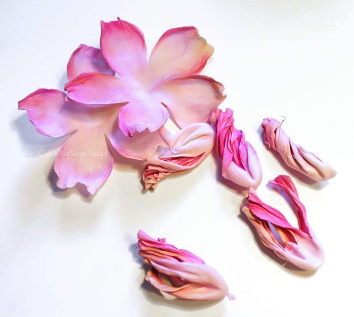 Foamiran Jak Uzywac Paper Flowers Foam Flowers Handmade Flowers