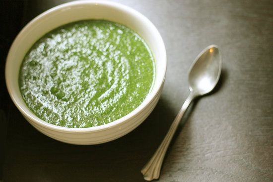 Detox Away Your Winter Blues With a Green Soup Winter Weight-Loss Detox Soup  Winter Detox Soup Recipe INGREDIENTS  1 large onion, peeled and sliced 1 clove of garlic, peeled and crushed 1 turnip, peeled and chopped 1 medium sweet potato, peeled and chopped 2 cups vegetable stock 2 large zucchini, trimmed and cut into 1-cm pieces 1 bunch of curly kale, rinsed and drained Handful of spinach leaves