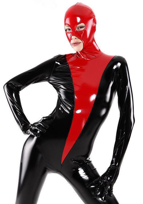 3d3b0a3721807f Latex Catsuit Rubber Unique Black and Red Full Body Tights Suit 0.4mm Size  Men L #fashion #clothing #shoes #accessories #womensclothing  #otherwomensclothing ...