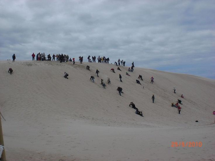 Moving dunes in Łeba-FUN!