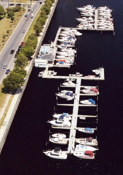 Charles River Yacht Club.  DiscoverTheCharlesRiver.com
