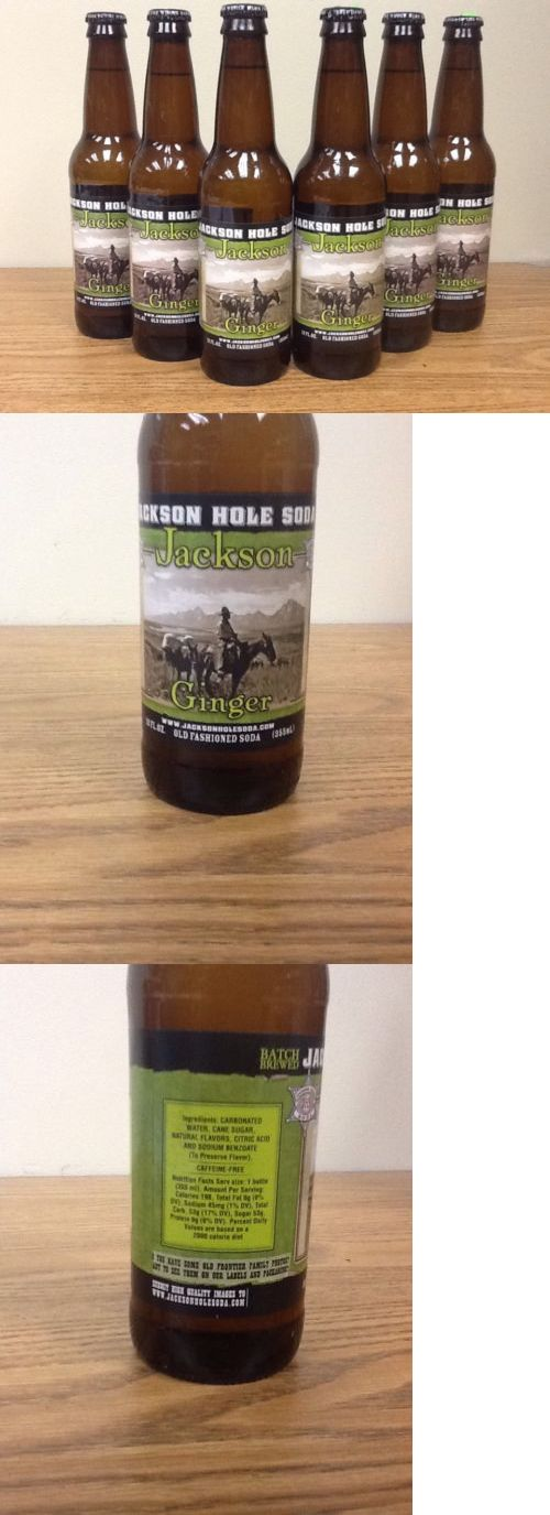 Soft Drinks 179188: Jackson Hole Jackson Ginger Old Fashioned Glass Bottle Soda -> BUY IT NOW ONLY: $43.45 on eBay!
