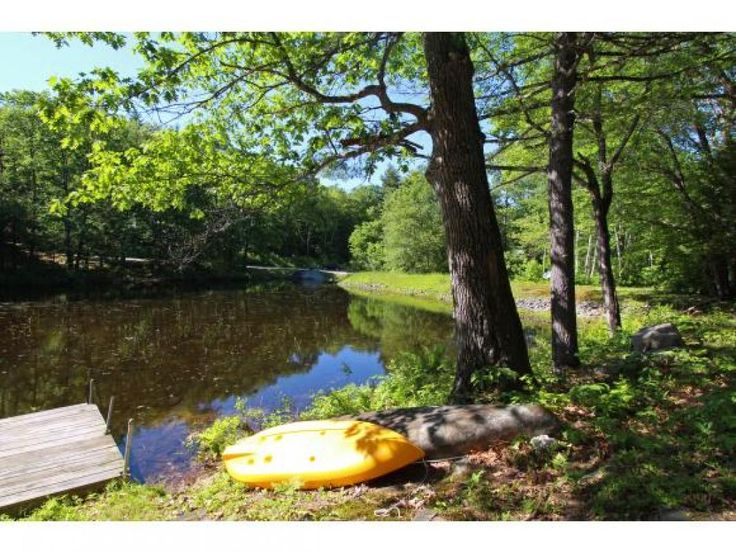 Affordable Vintage Waterfront Set On Outlet Brook Between 2 Lakes W 400 On Quiet Upper Kimball