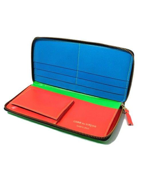 Wallet COMME des GARCONS(ウォレットコムデギャルソン)のSUPER FLUO(財布)|詳細画像