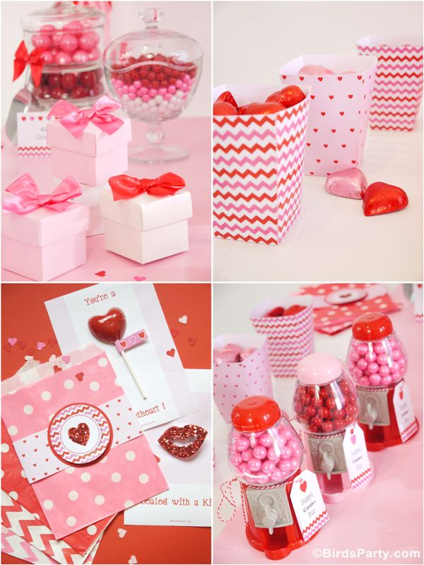 Printables for Valentine's Day!!! Loving how cute and sweet these are!