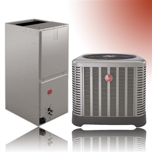 Rheem Full System 3 Ton Air Handler Ecm Motor 2 5 Ton 14 Seer Heatpump 410a 10 Or 15 Kw Heat Strip New In Factory Box Recovery