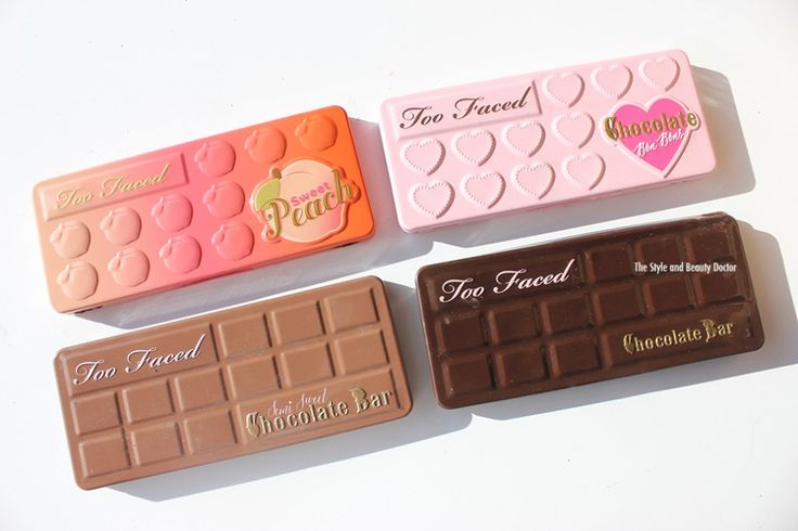 too faced sweet peach vs too faced chocolate bon bons vs too faced semi sweet…