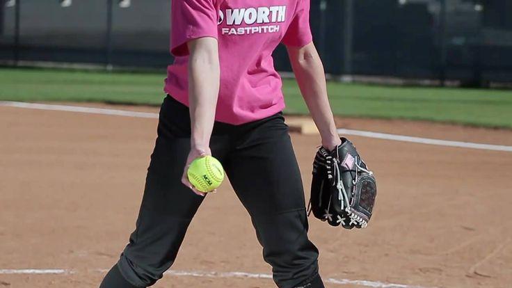 Technika: miotanie Softball pitching tips with Amanda Scarborough