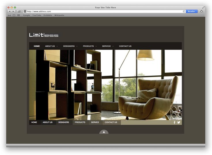 Limitless | Web Design Portfolio | Other Industries | Toronto | Richmond Hill | North Toronto | www.magentadesign.ca