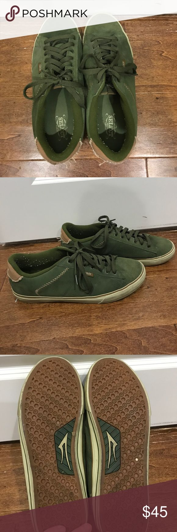 RARE Select by Lakai Rick Howard skate shoes 💥RARE💥 Men's skate shoes, hard to find!! Barely worn, some piling from socks around heel, easily removed. Select by Lakai Shoes Sneakers