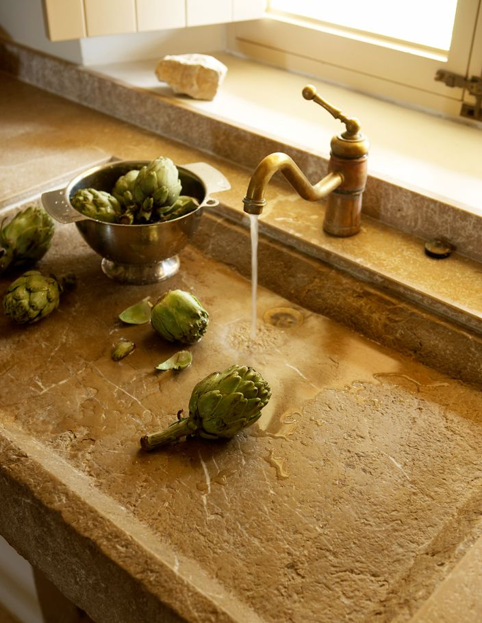 Llamas' valley blog: A Spanish Touch  Shallow sink for veggies & fruit