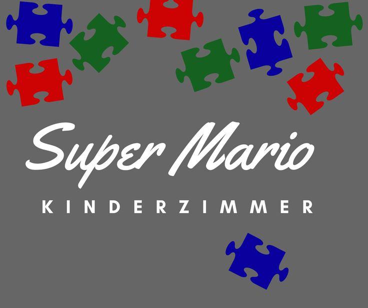 Ideen Für Ein Super Mario Kinderzimmer   Super Mario Wandgestaltung Mit Super  Mario Tapete Oder Super