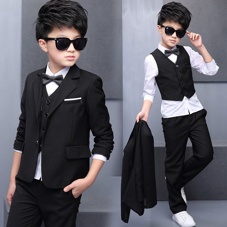 >> Click to Buy << 2017 Boys Suits For Weddings Kids Prom Suits Wedding Clothes for Boys Children Clothing Sets Boy Classic Costume Boys Dresses #Affiliate