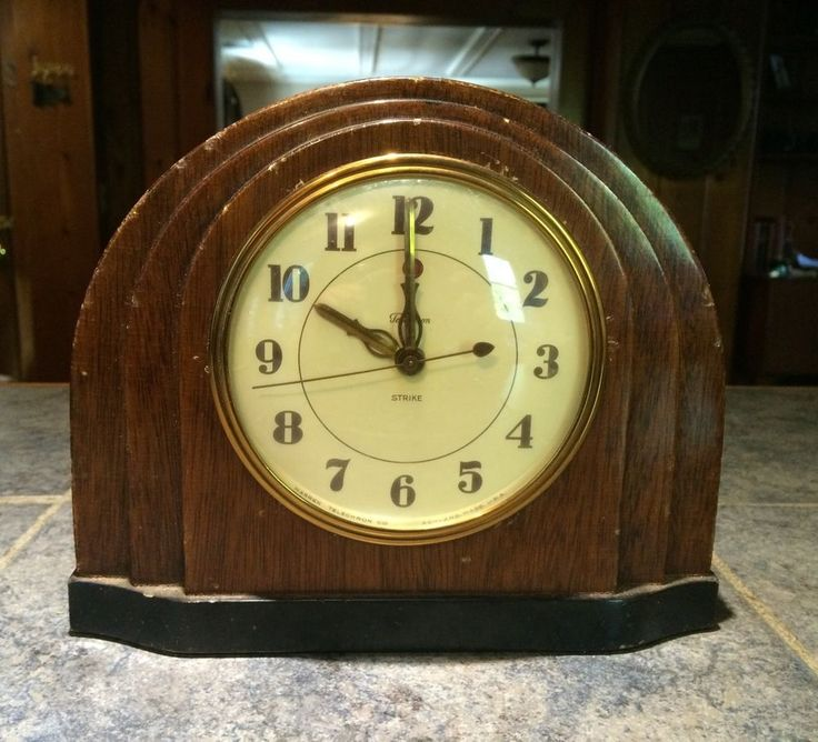 US 3500 Used in Collectibles Clocks Vintage