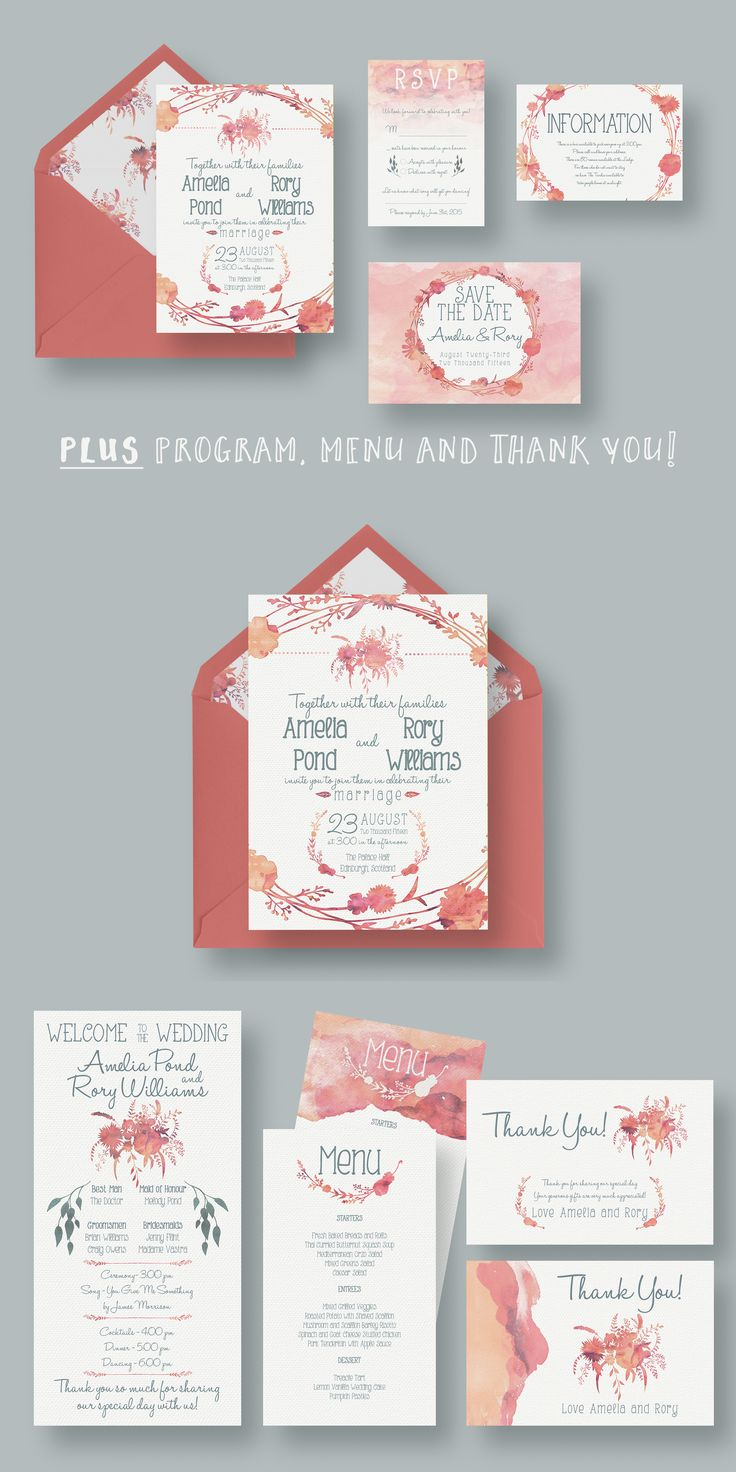 8 best Invitation Templates images on Pinterest | Wedding ...