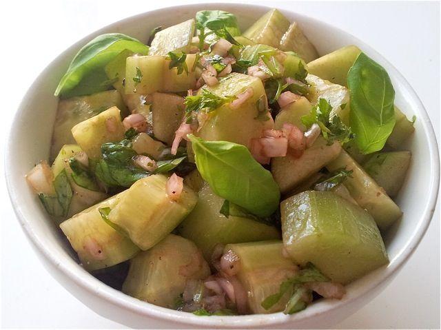 Italiaanse komkommersalade