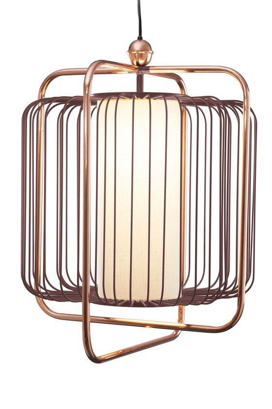 Direct light brass pendant lamp JULES by Mambo Unlimited Ideas