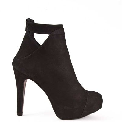 Mentor Plato Ankle Boot Blk Nbk