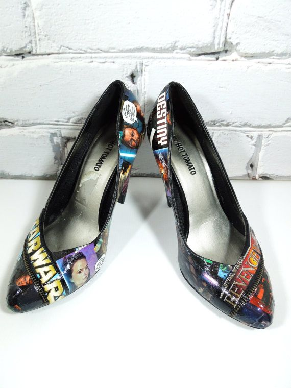 Hey, I found this really awesome Etsy listing at http://www.etsy.com/listing/104872501/star-wars-comic-book-heels-hot-heels-for