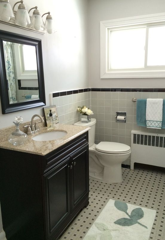 25 b sta 1950s bathroom id erna p pinterest badrum for 1950 bathroom ideas