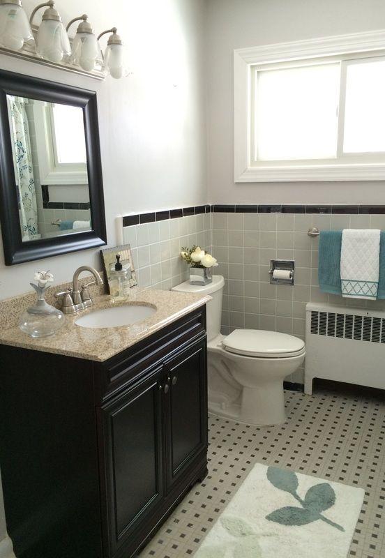 25 b sta 1950s bathroom id erna p pinterest badrum for Bathroom ideas 1950s