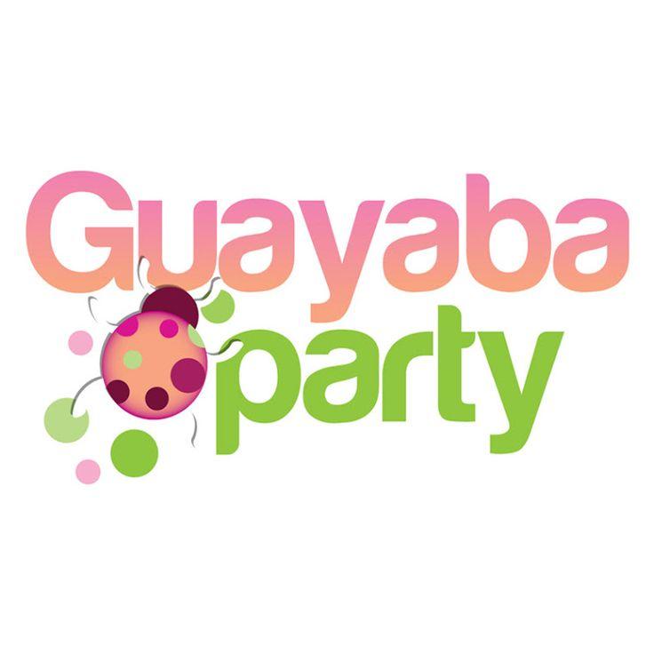 Logotipo para cliente: Guayaba party Organizadores de fiestas infantiles