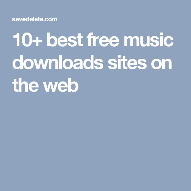 10+ best free music downloads sites on the web