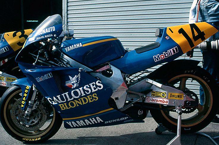 YZR500 OWC1 Gauloise Blondes Yamaha (1990)
